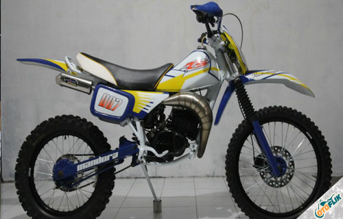 Modifikasi Motor Trail TS 125 1