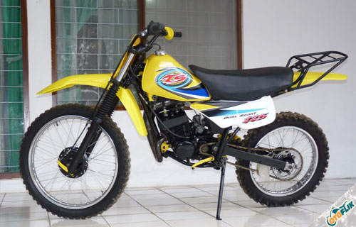Modifikasi Motor Trail TS 125 2