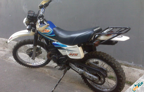 Modifikasi Motor Trail TS 125 3