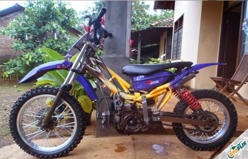 Modifikasi Motor Trail Yamaha F1ZR 3