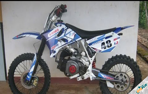 Modifikasi Motor Trail Yamaha F1Z R