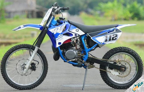 Modifikasi Motor Trail Yamaha RX King