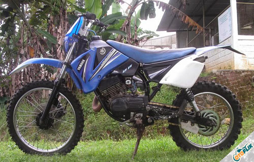 Modifikasi Motor Trail Yamaha RX King 3