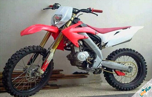 Modifikasi Motor Trail Yamaha Vixion 2