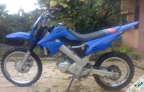 Modifikasi Motor Trail Yamaha Vixion 5