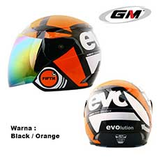 GM Evolution Fifth Black Orange Flo
