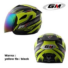 GM Fighter Flat Bed Yellow Flo-Black