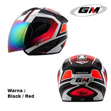 GM Fighter Flux Black-Red