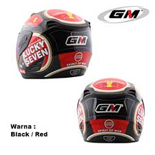 GM Fighter Lucky Seven Black-Red