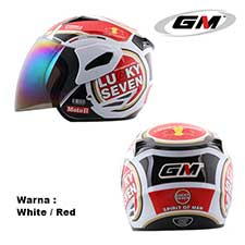 GM Fighter Lucky Seven White-Red