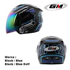 GM Fighter Magnum Black-Blue Doff