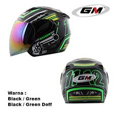 GM Fighter Magnum Black-Green