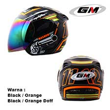 GM Fighter Magnum Black-Orange Doff
