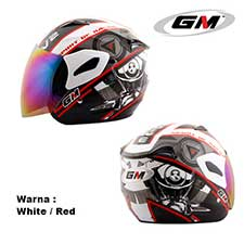 GM Fighter V2 White-Red