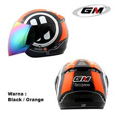 GM Icon Play Black-Orange