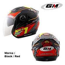 GM Interceptor F1 Black-Red