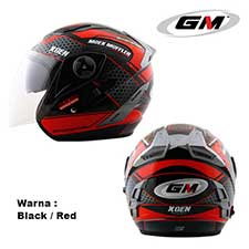 GM Interceptor Xgen Black-Red