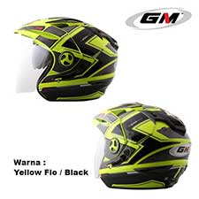 GM New Imprezza Exo 120 Yellow Flo-Black
