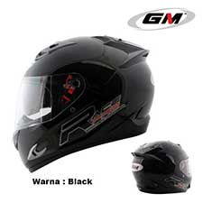 GM Race Pro 2 Visor Solid Black