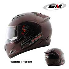 GM Race Pro 2 Visor Solid Purple