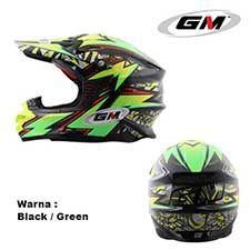 GM Supercross Flash Black-Green