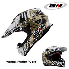 GM Supercross Neutron White-Gold