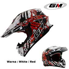 GM Supercross Neutron White-Red