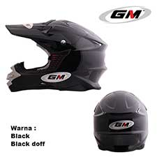 GM Supercross Solid Black Doff