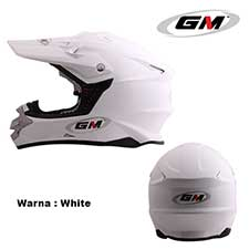 GM Supercross Solid White