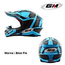 GM Supercross Traker Blue Flo