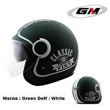 GM Vint Classic Green Doff-White