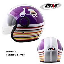 GM Vint Motoclub Purple-Silver