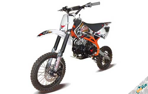 Gazgas Raptor 125 cc Pro Series