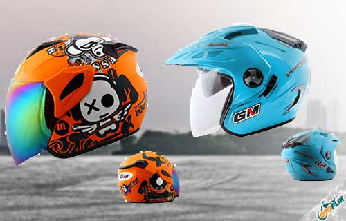 Harga Helm GM Open Face