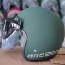 Helm Bogo ARC Army Doff Kaca Datar