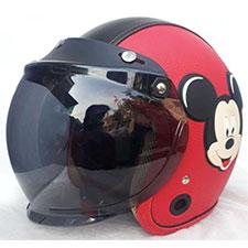 Helm Bogo Kulit Mickey Mouse Dewasa