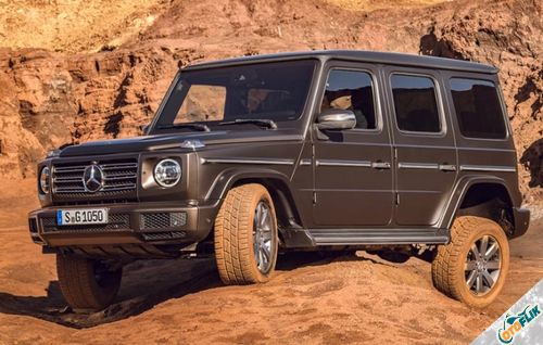 Mercedes Benz G-Glass