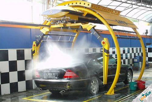 Mesin Cuci Motor Otomatis SATO