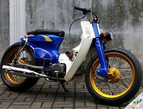 Modifikasi Motor Astrea Legenda Thailook 1