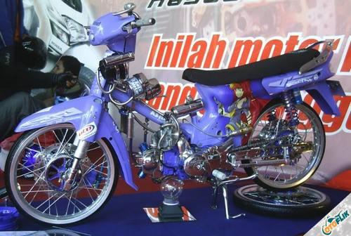 Modifikasi Motor Astrea Legenda Thailook 2