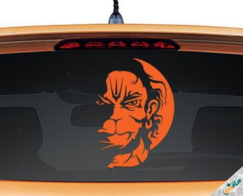 Modifikasi Stiker Kaca Mobil Unik 02