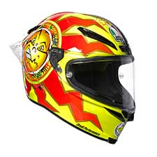 Pista Gp R Limited Edition Ece Dot Plk - Rossi 20years