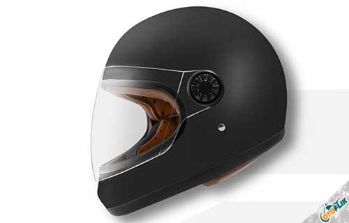 Helm Zeus Full Face Vintage