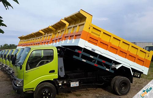 Hino Dump Truck Dutro 130 HD 6.4 PS