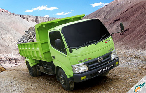 Hino Dump Truck Dutro 130 HD X Power 6.8 PS