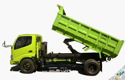 Hino Dump Truck Dutro 130 HD X Power PTO 6.8 PS