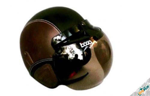 JBX Helmet Bogo Retro Helm