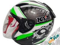 KYT DJ Maru SE World GP Ready Ximeon Helm Half Face