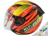 KYT DJ Maru World GP Ready Helm Half Face