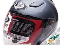 KYT Dj Maru Solid Helm Half Face - All Grey Metalik